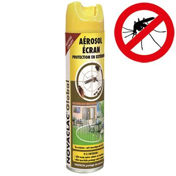 A rosol effet ecran moustiques 600 ml anti moustiques for Traitement anti moustique exterieur