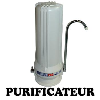 Purificateur d 39 eau countertop 1 filtre vide avec accessoires sur vier aquapro pr act1 xx - Purificateur d eau portable ...