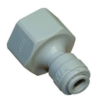 Raccord rapide taraud 3 8 pouce joint tube 1 4 d 39 eau - Raccord tube polyethylene eau potable ...