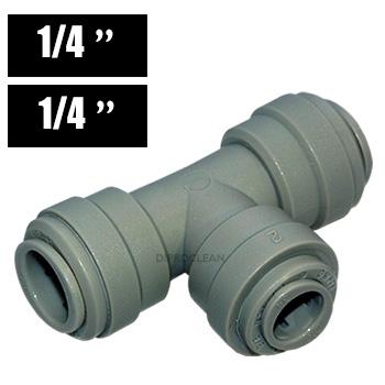 raccord te 1 4 pouce egal union rapide tubes souple d 39 osmoseur purificateur frigos. Black Bedroom Furniture Sets. Home Design Ideas