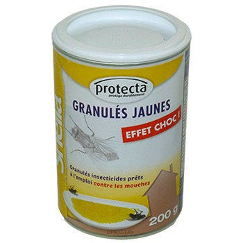granul s sheila attractif jaune anti mouches 200g app t sexuel insecticide naturel tue mouches. Black Bedroom Furniture Sets. Home Design Ideas