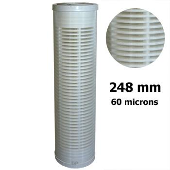 cartouche lavable 60 micron nylon 9 3 4 filtration d 39 eau. Black Bedroom Furniture Sets. Home Design Ideas