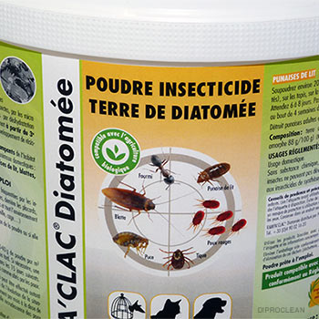 terre de diatom e seau 2 kg naturel anti insectes insecticide bio chien chat poules chevaux. Black Bedroom Furniture Sets. Home Design Ideas