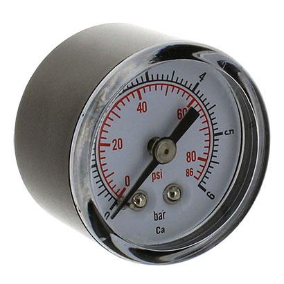 Manom tre axial 1 4 pouce 0 6 bars mano r ducteur de for Augmenter la pression d eau