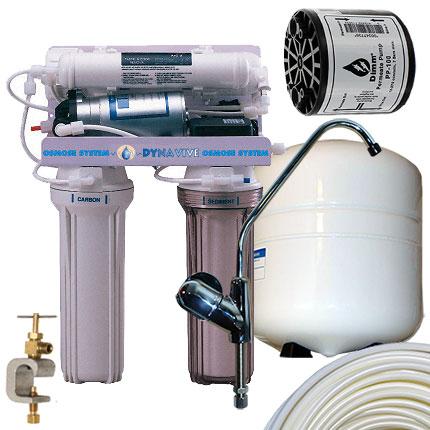 osmoseur pompe perm ate 4 niveaux 50gpd eau de boisson 3 5 gallon. Black Bedroom Furniture Sets. Home Design Ideas