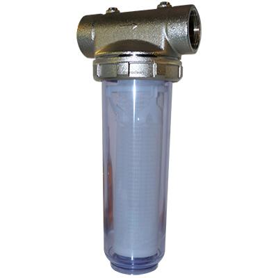 Porte filtre bronze 10 pouces haut pression filtration for Filtre pour pompe a eau