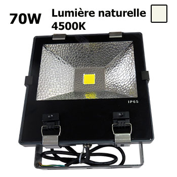 projecteur led 70w ext rieur etanche eclairage naturel industriel parking tennis fa ade. Black Bedroom Furniture Sets. Home Design Ideas
