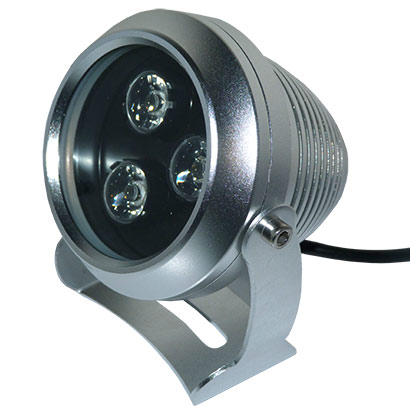 Projecteur led 9w rgb etanche 12v eclairage multicolore for Projecteur led rgb exterieur