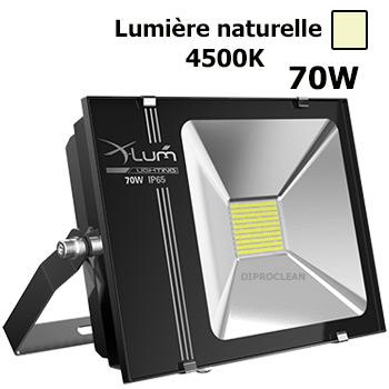 Projecteur led 70w ext rieur etanche eclairage naturel for Eclairage projecteur exterieur