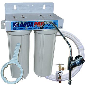 Purificateur sous evier eau de boisson 10 pouces for Filtration eau maison