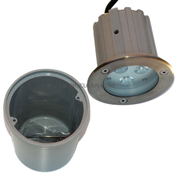 Spot led 9w encastrable lumi re naturel terrasse bordure for Spot de terrasse encastrable