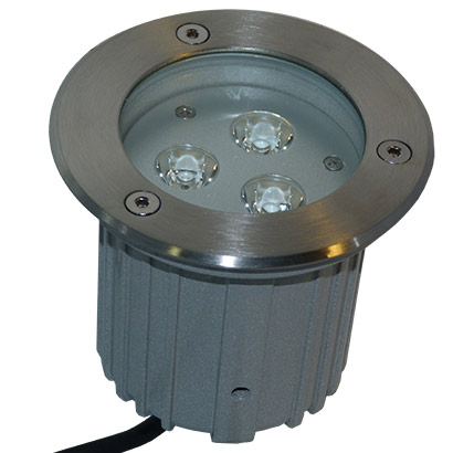 Spot rgb led 9w encastrable 12 24v terrasse jardin for Spot led encastrable exterieur terrasse