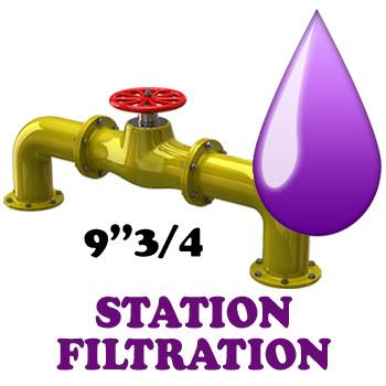 station de filtration avec bocal 9 3 4 pouces vente syst mes filtrations eau potable. Black Bedroom Furniture Sets. Home Design Ideas