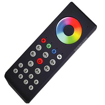 t l commande radio variateur led 8 zones 12v 24v commande tactile de bandes ampoules. Black Bedroom Furniture Sets. Home Design Ideas