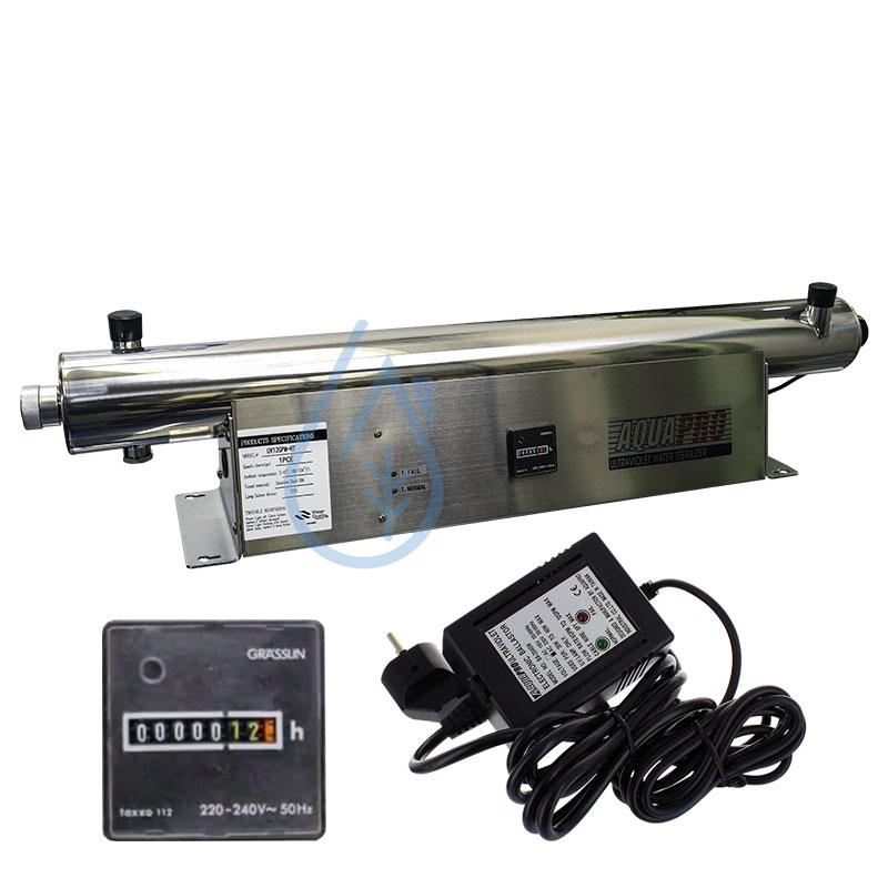 39 W 45.4LPM traitement de l/'eau Système Ultra Violet UV Stérilisateur PV-12