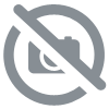 Chrome connector nipple 1/4 - 3/4 Inch